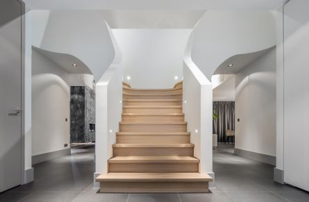 1 double sided staircase design