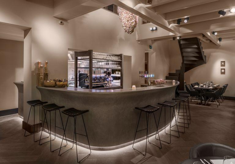 restaurant de werf design