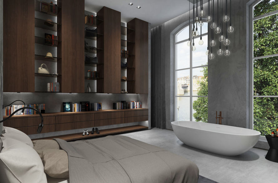 luxury `master bedroom design