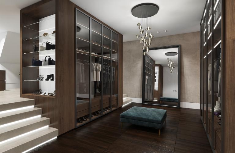 luxury walkin closet