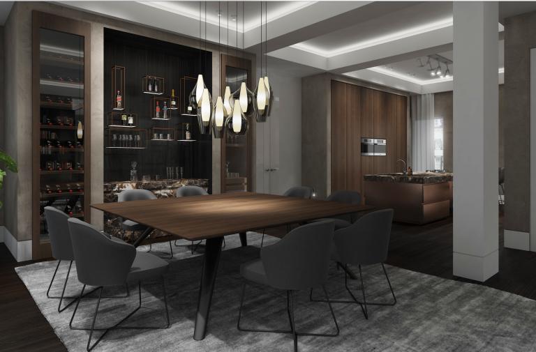 penthouse design by kolenik